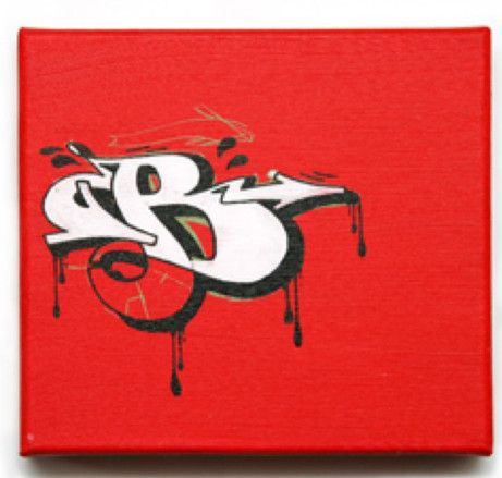 B In Graffiti Letters 5 Style Alphabet Sketch Canvas To Letter On The Wall See Tag Below Cool