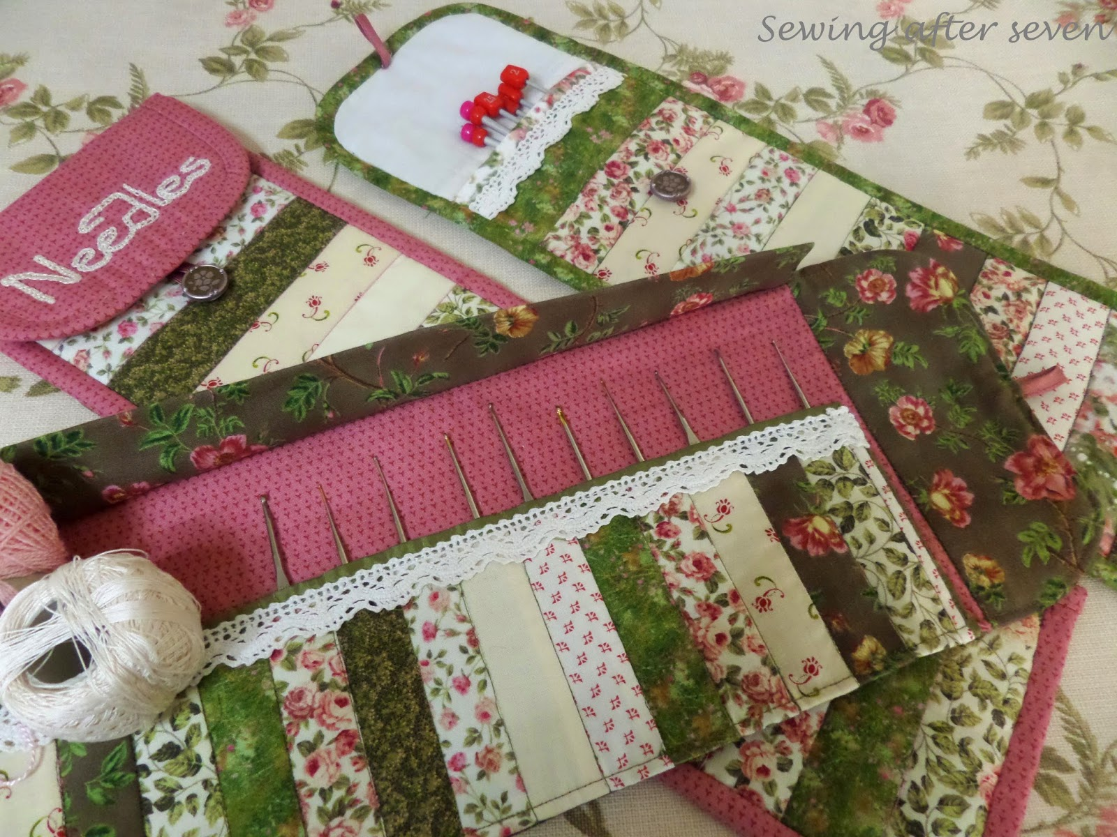 Sewing After Seven: Crochet hook case and Giveaway winner
