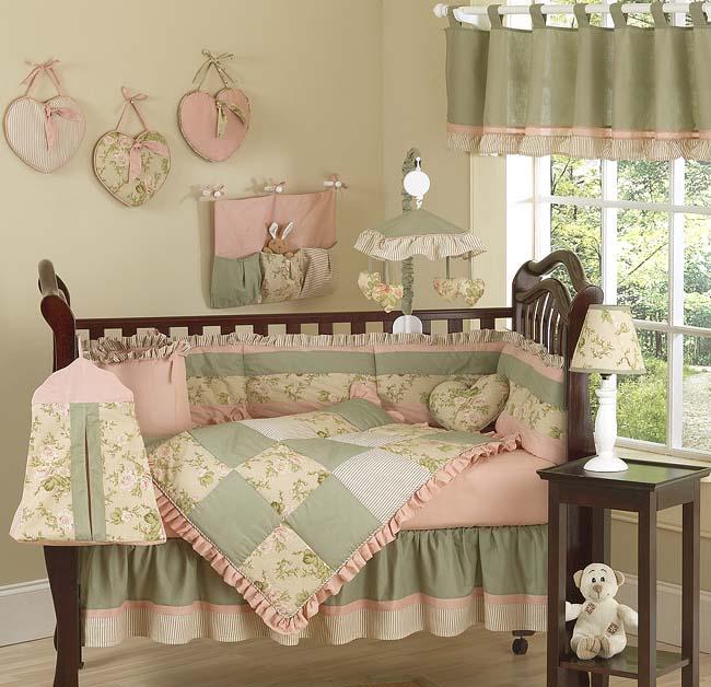 Home kids inspiraci n y creatividad dormitorios de bebe for Dormitorios vintage chic