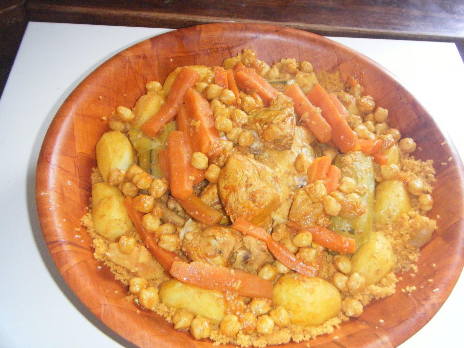 Vrai couscous tunisien de tm la cuisine de tm - Recette cuisine couscous tunisien ...