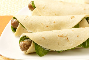jennie - o turkey recipe of the week - simple turkey sausage breakfast rollers