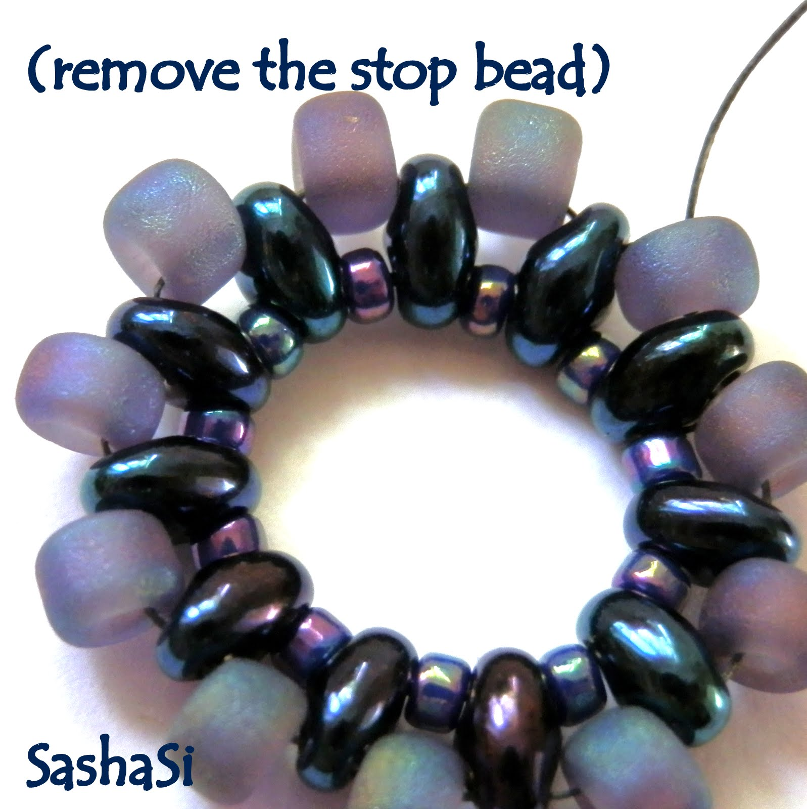 Amazing beaded pendant tutorial photos jewelry collection ideas preciosa twin rivoli pendant tutorial free for personal use baditri Image collections