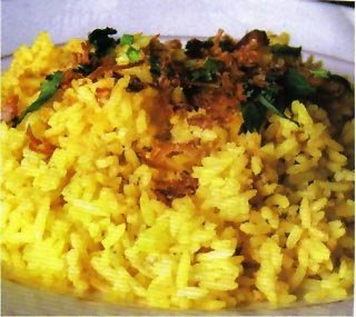 Kebuli Rice (Nasi Kebuli) Recipe