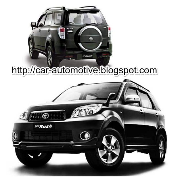 Toyota Rush Dimension >> Car Collection: Spesifikasi Toyota Rush New