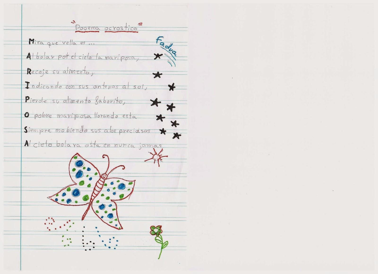 Excepcional Plantilla De Poema Acróstico De Navidad Imágenes ...