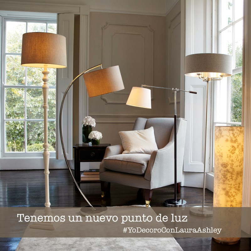 Iluminación Laura Ashley - Lámparas de suelo