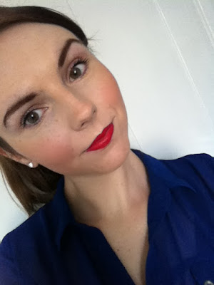 yves rocher red moistursing lipstick