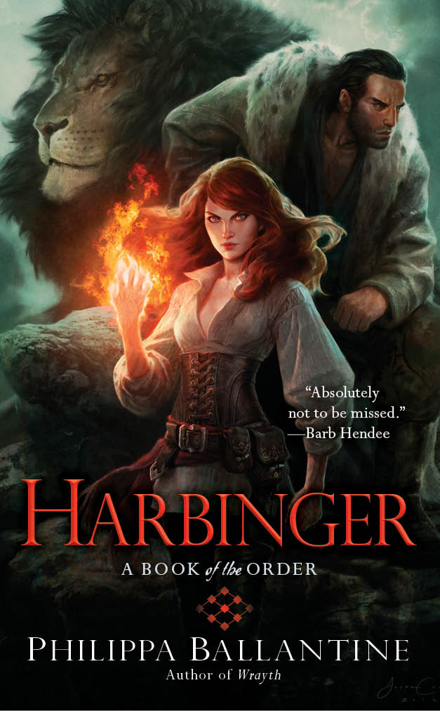 Harbinger by Philippa Ballantine (Book of the Order #4)