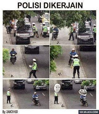 Polisi di kerjain