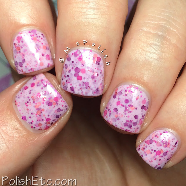 The Pink Cart Nail Art Trio from Native War Paints - McPolish - Imagine