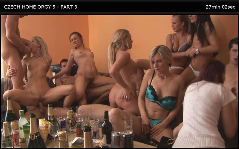 Czech Home Orgy 05 Part 3