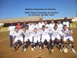CENI, Penta Campeão de Futebol em Ilicínea