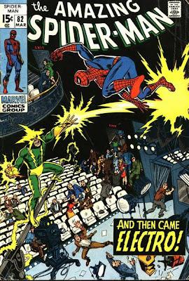 Amazing Spider-Man #82, Electro