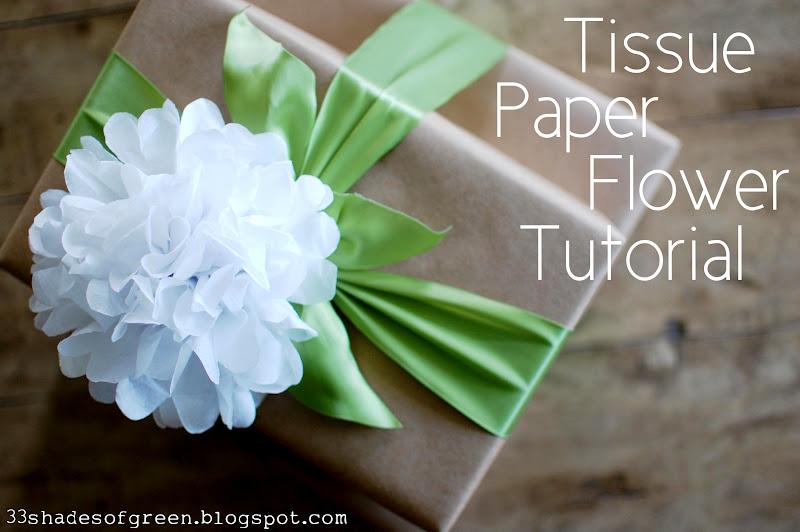 33 shades of green tissue paper flower tutorial sunday june 3 2012 mightylinksfo