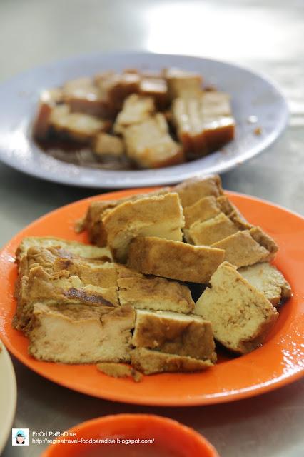 Tai Buan Porridge 大满清香粥 @ Muntri Street, Penang.