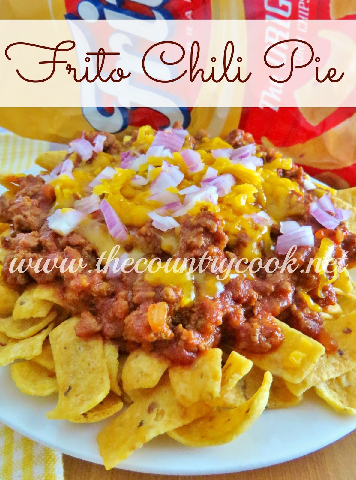 The Country Cook: Frito Chili Pie