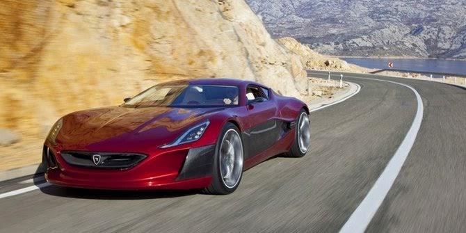 Rimac Concept 1 Supercar