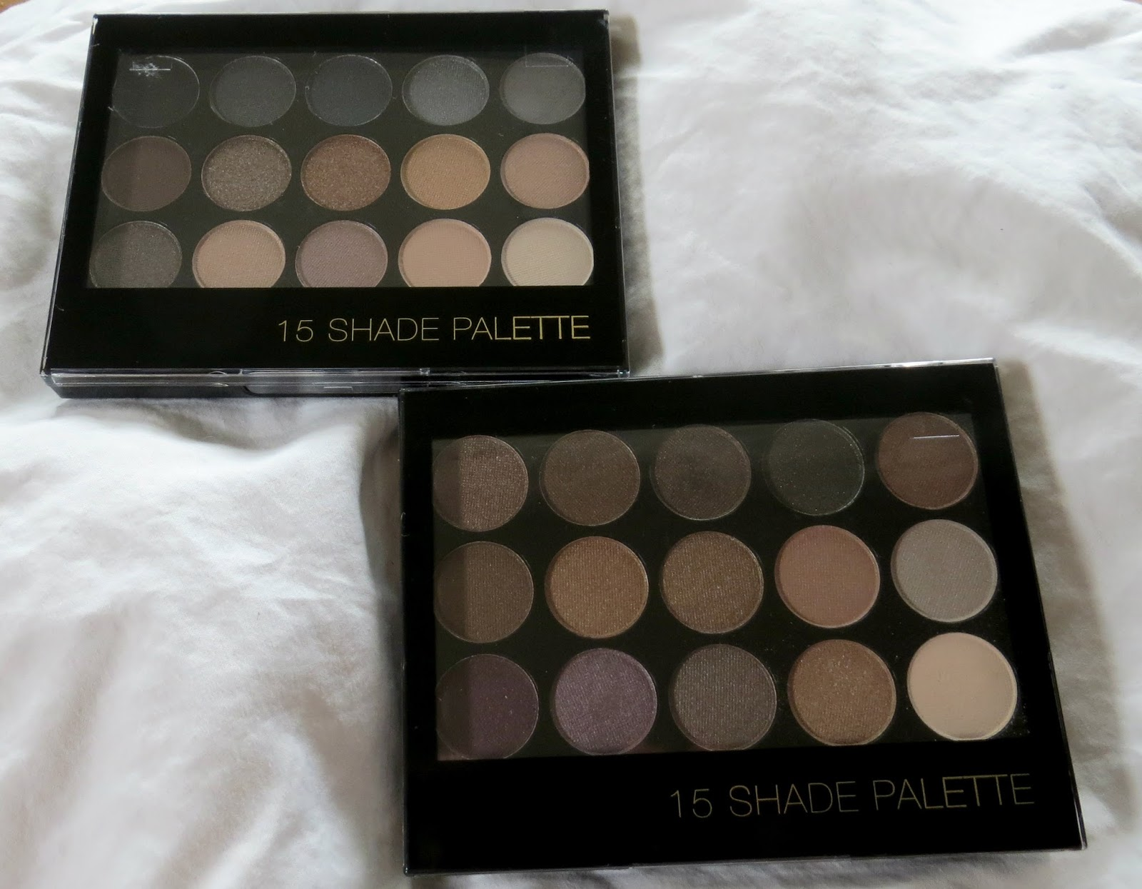 F21 15 Shade Palette in Brown/Taupe