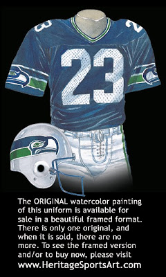 Seattle Seahawks 1983 uniform