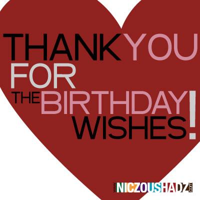 Happy Birthday Thanks