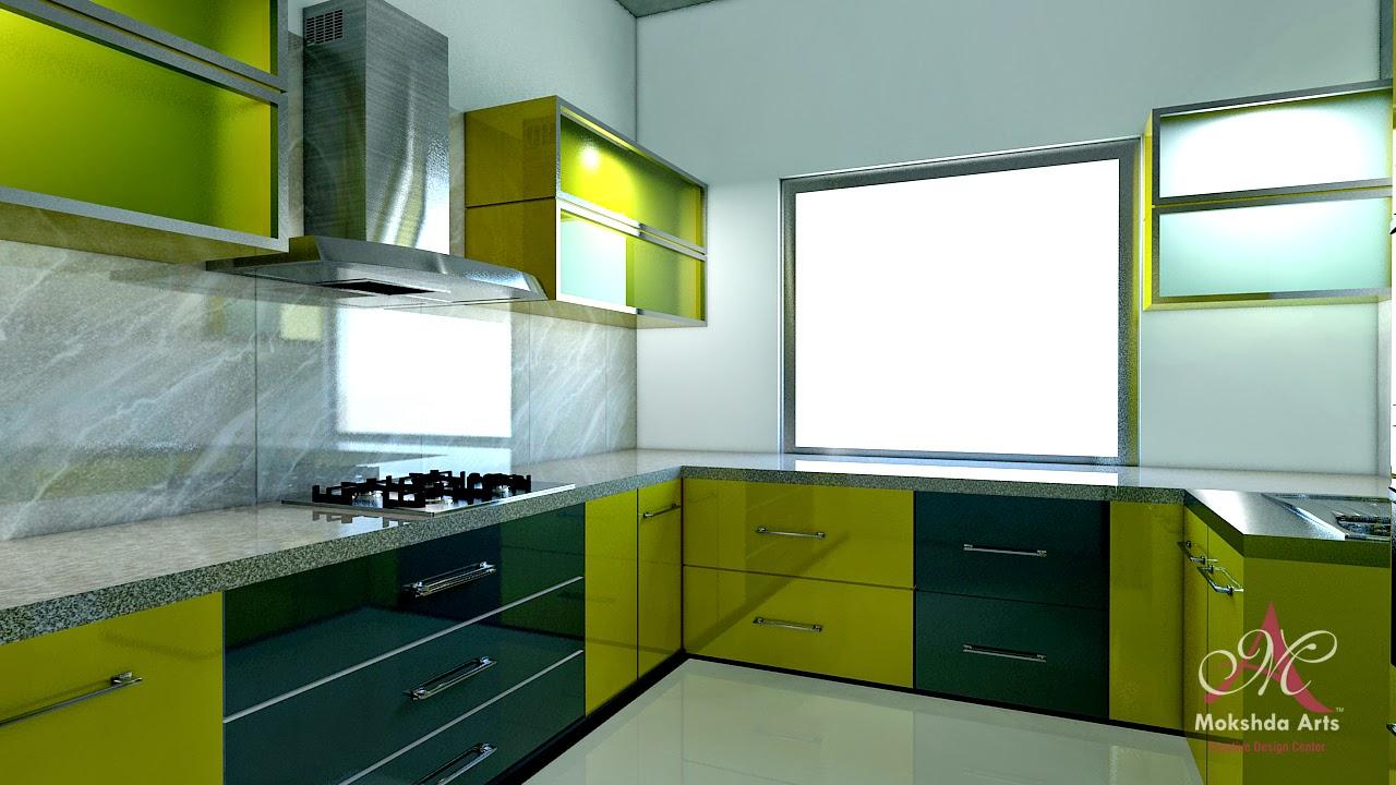 Kitchen Design - Mokshda Art Interior Design