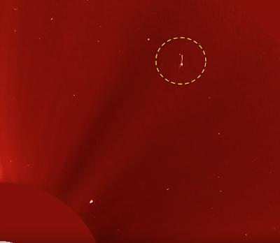 Huge Cylinder UFO Near The Sun 2015, UFO Sighting News