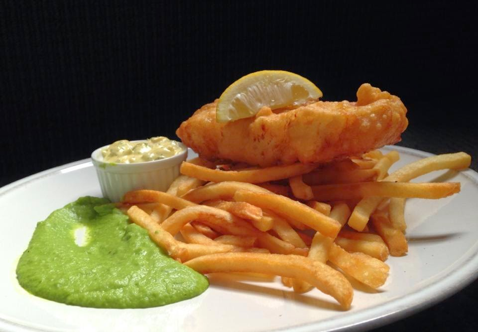 The gluten free foodie the truscott arms say hello to for Gluten free fish and chips