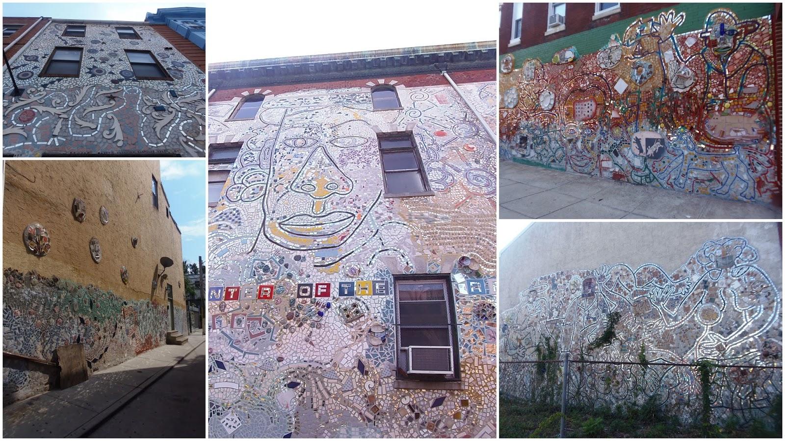 Notre vie de voyageurs philadelphia le berceau de l for Mural tour philadelphia map