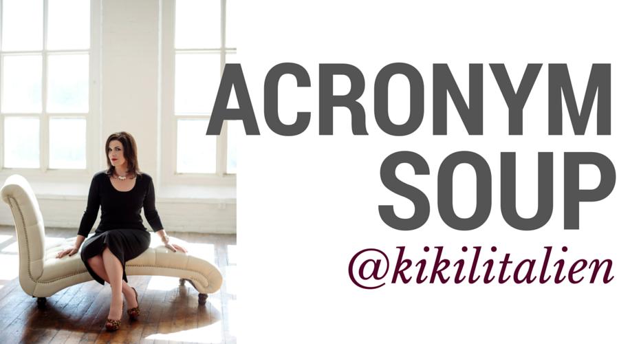 KiKi L'Italien's Acronym Soup
