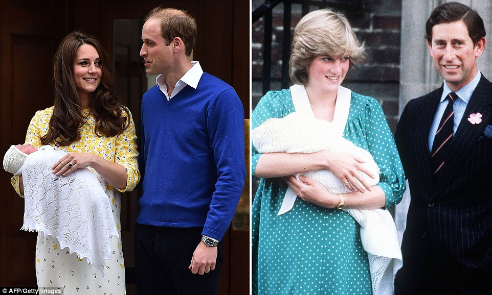 Kate and William, new princess, British monarchy,Diana