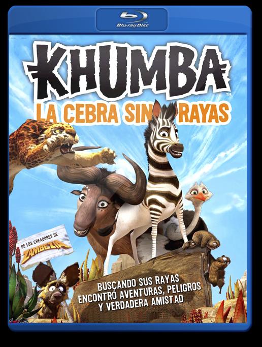 Khumba La Cebra Sin Rayas Bluray