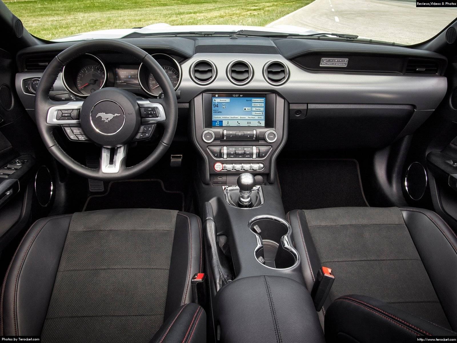 Hình ảnh xe ô tô Ford Mustang 2016 & nội ngoại thất