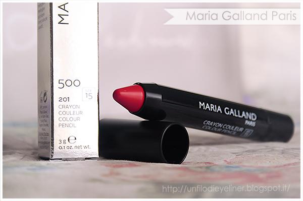 Maria Galland - Le Maquillage Rêves d'Été Crayon Couleur 201 Rouge Glacé