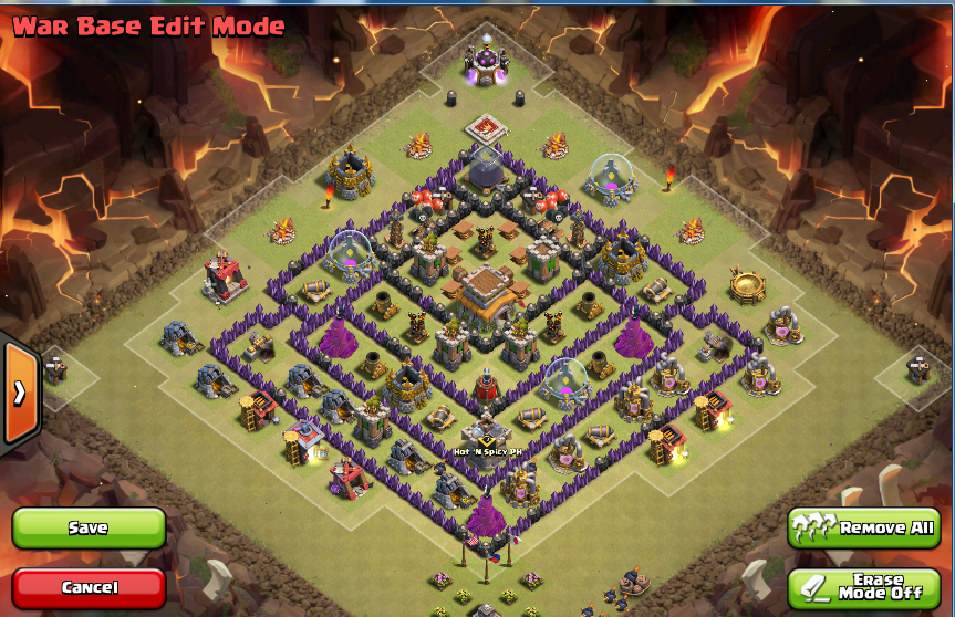 New Layout Th8 Th8 War Base Layout With Air