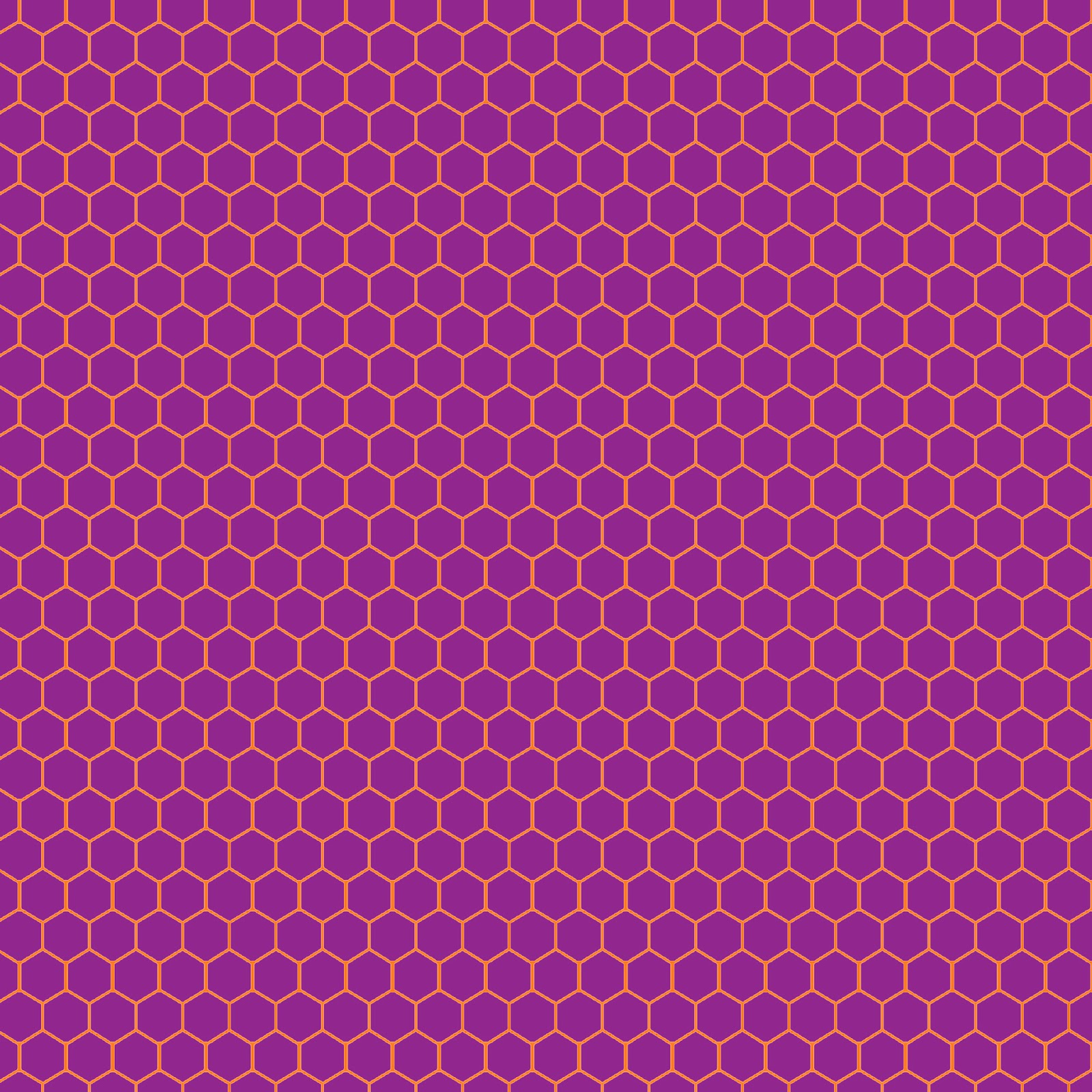Printable Wallpaper: Doodlecraft: Hexagon Honeycomb FREEBIE Background Pattern