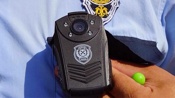 Polislere Yaka Kamerası! Artık Polislerle Görüşmeler Yaka Kamerası ile Kayıt Edilecek!