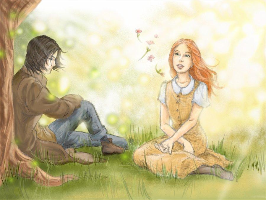 Pornostar severus snape and lily love story