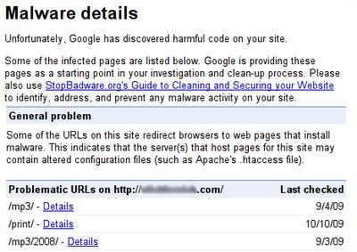 Cách phát hiện và loại bỏ Malware trong Blogger, Website