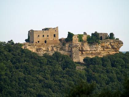 El Castell de la Popa des de sota el Serrat Rodó