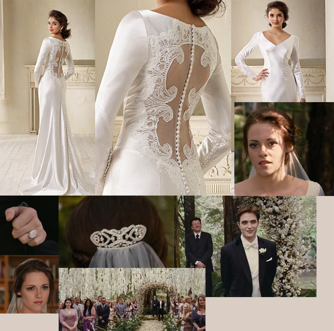 Sherisse\'s blog: Bella Wedding Gown Scene with Ring You can click on ...