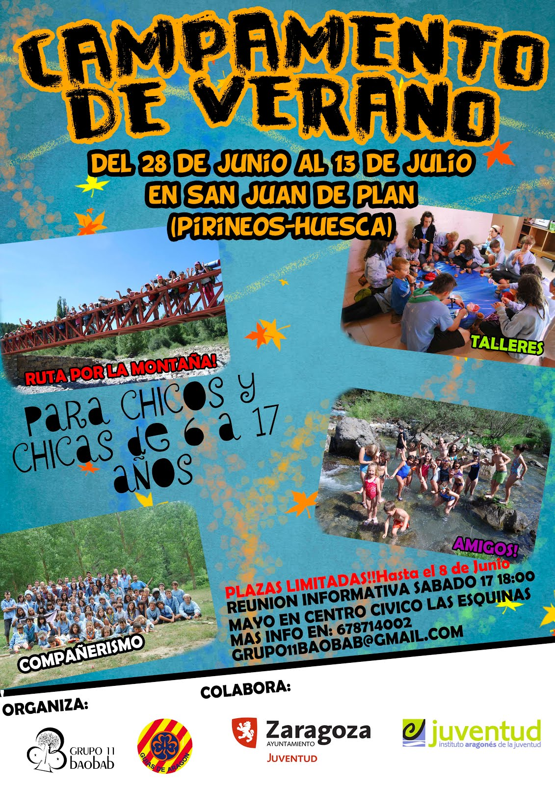 Campamento 2015 San Juan de Plan
