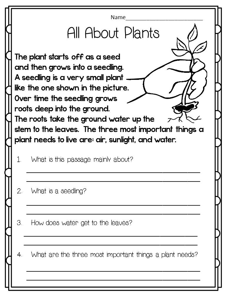 It is an image of Crush Printable 2nd Grade Reading Worksheets