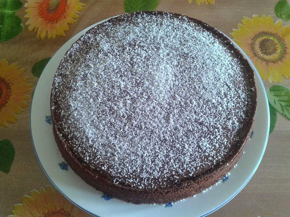 bimby, torta cocco e nutella