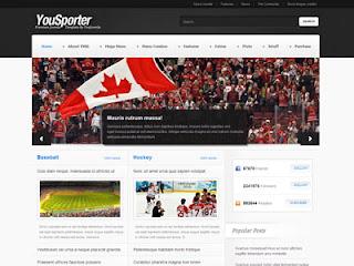 Yousporter - YouJoomla Sports Magazine J1.5