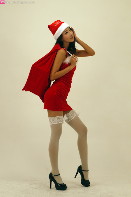 4 Santa Park Hyun Sun-very cute asian girl-girlcute4u.blogspot.com
