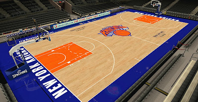 NBA 2K14 Knicks MSG Chase Court HD