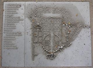 Plan Schlossgarten Schwetzingen