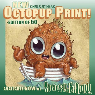 Octopup Print by Chris Ryniak
