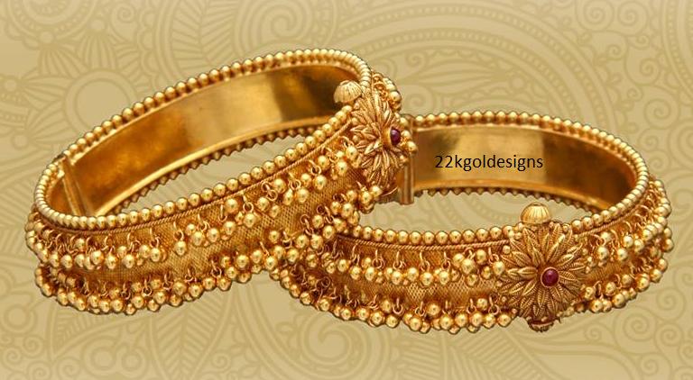 Gold Gajjalu Bangles 22kgolddesigns