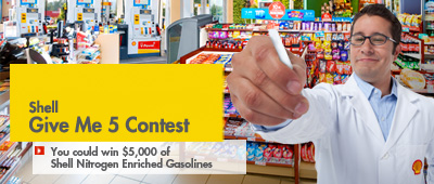 Shell gasoline contest
